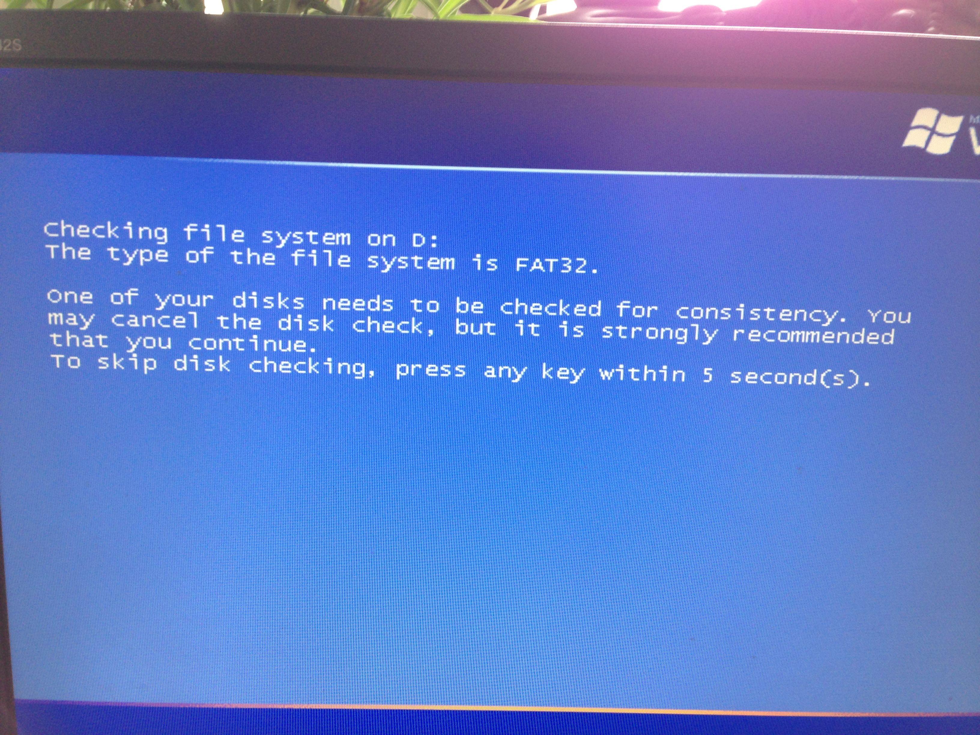 xp无法正常启动,卡在蓝屏修复界面?图片