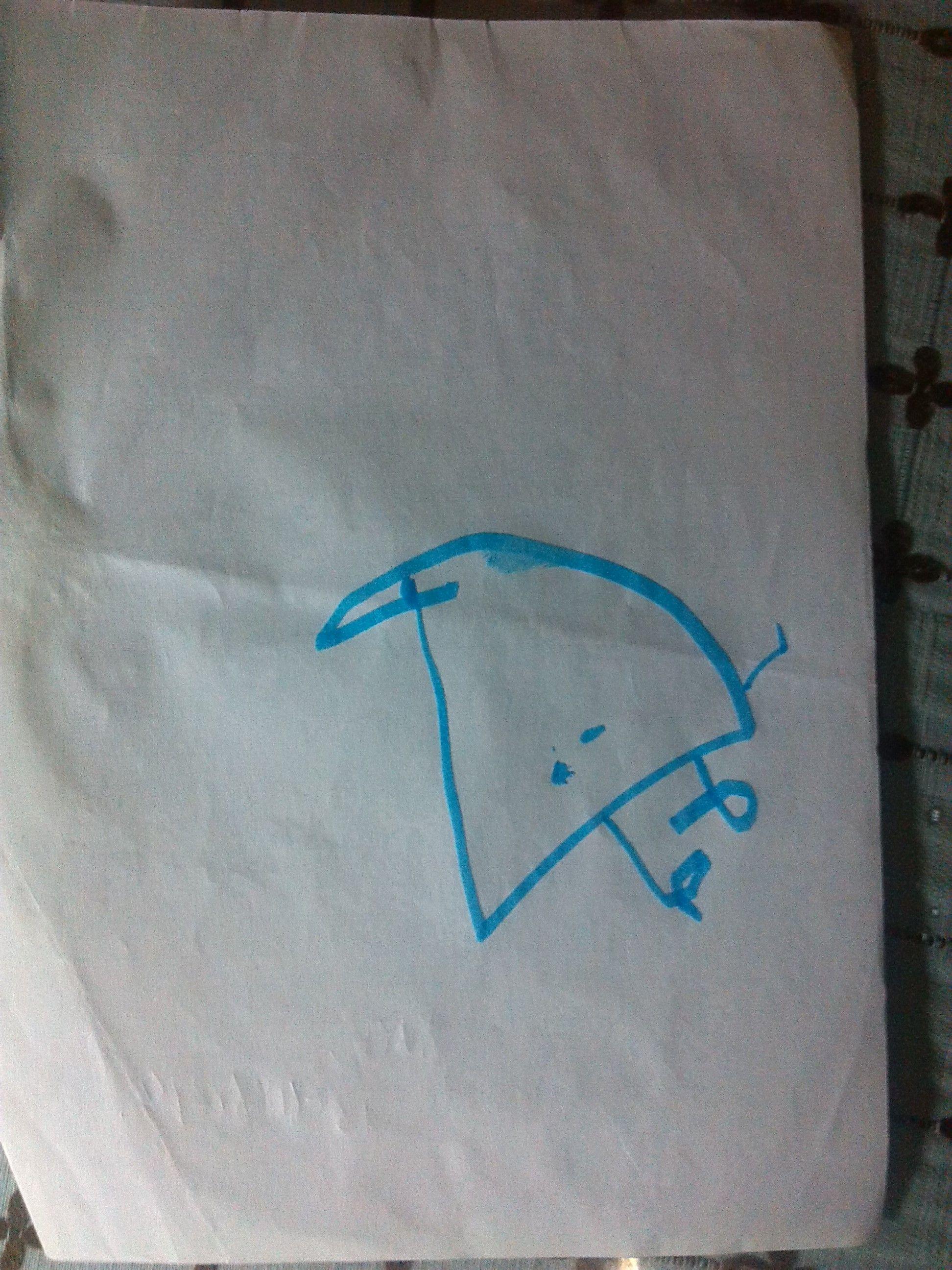 这是孩子生气的时候画的三幅按照时间顺序排列的请心理方高清图片
