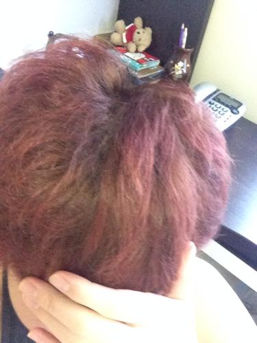 头发什么颜色… 染深棕要漂么图片