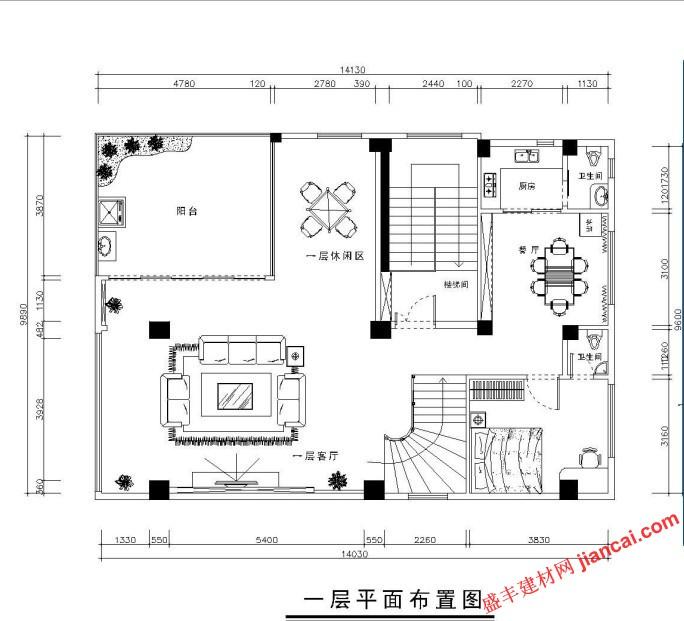 求房屋建筑平面图作图工具?