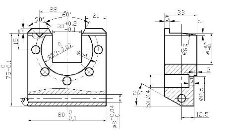 求《机械制造技术基础》课程设计 设计题目: 法兰盘的图片