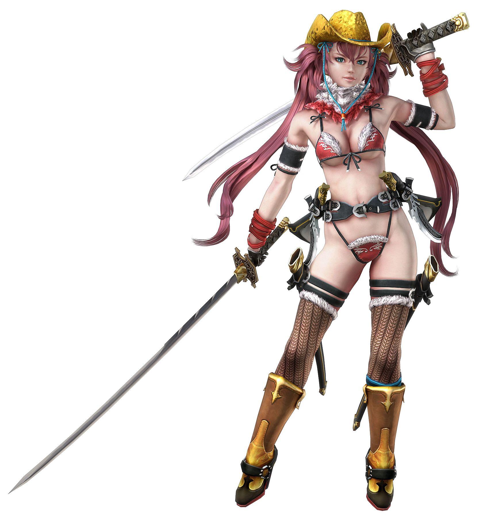 一个美女带着白色帽子可以拿武士可以用什么游戏