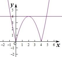 函数有4个零点