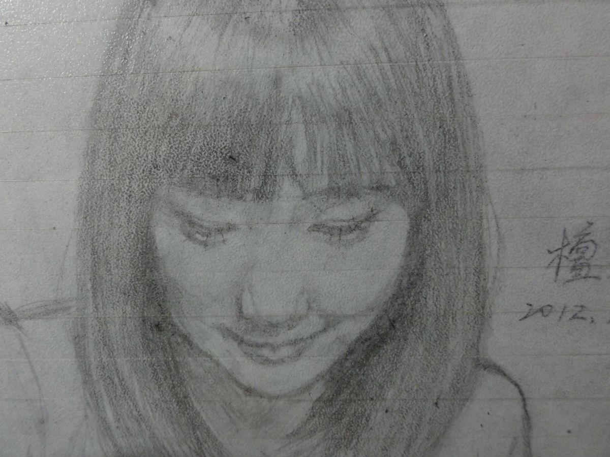 唯美的铅笔画美女图片