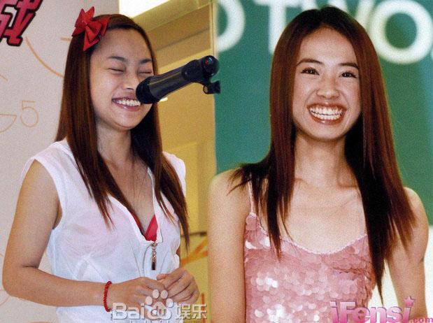 蔡依林和罗玉凤是姐妹吗?长的好像,一模子刻出来的!图片