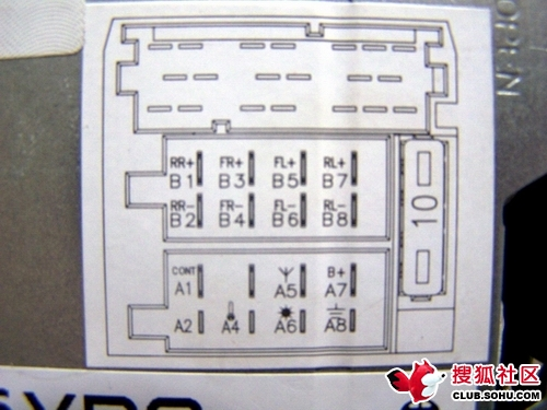 大众cd机接线图 大众车载cd机接线图 大众速腾cd机接线图高清图片