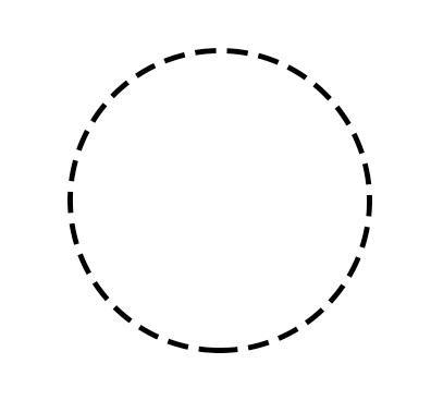 ps空心虚线圈怎么画图片
