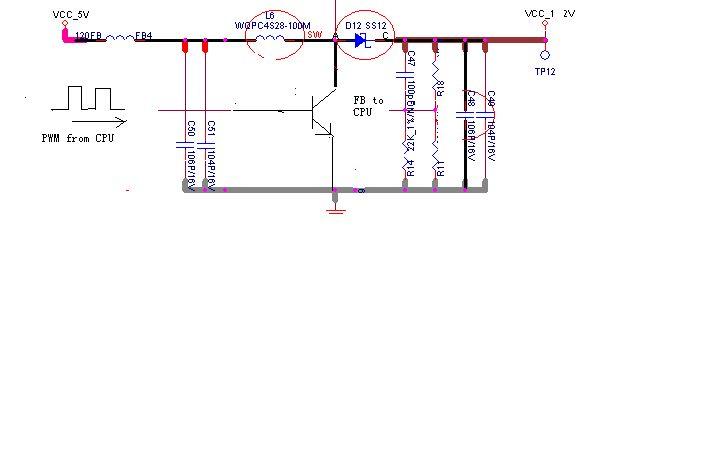 5v升12v电路图 12v转5v稳压电路图 5v转12v升压电路图
