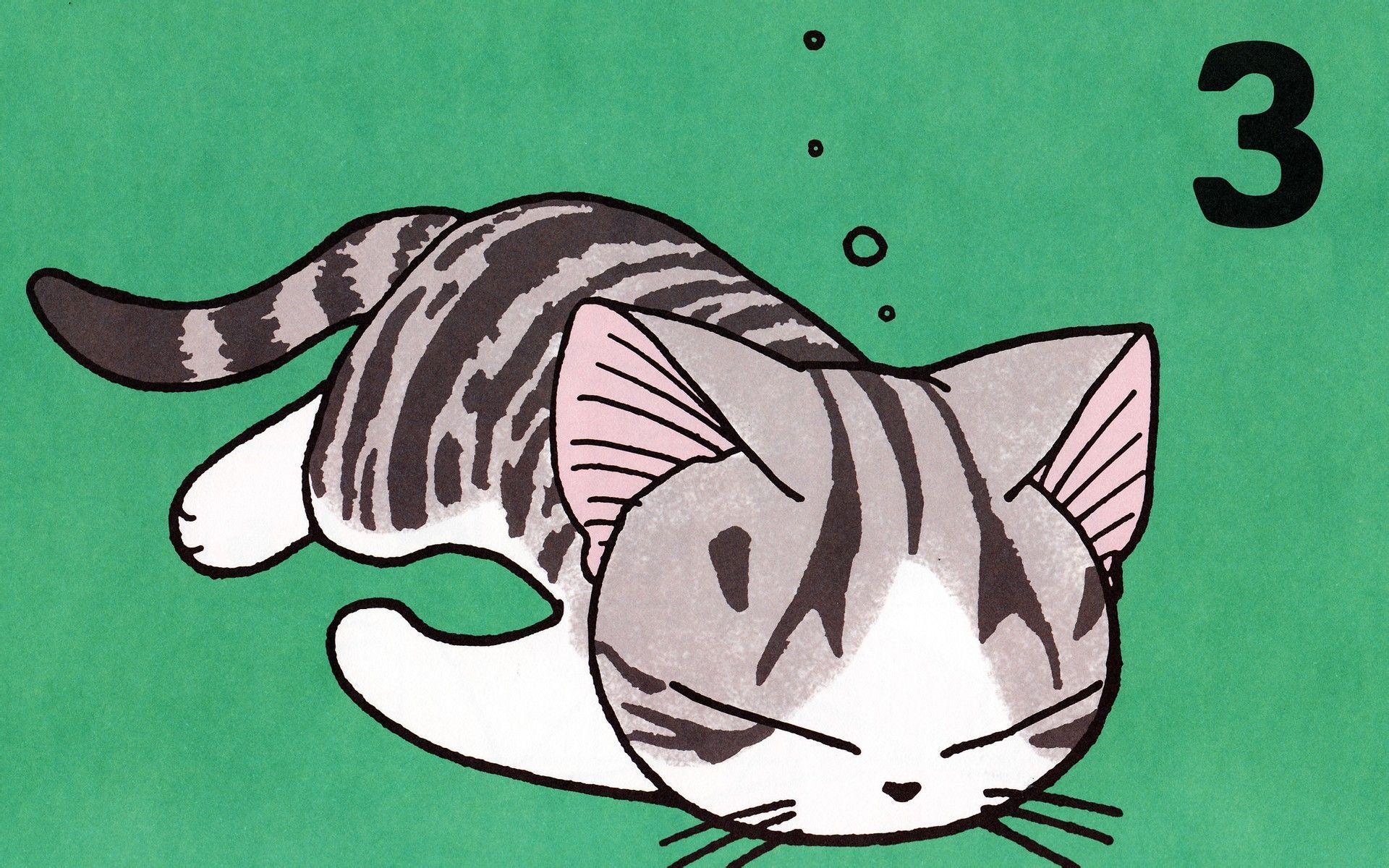 动漫 求起司猫的高清图图片
