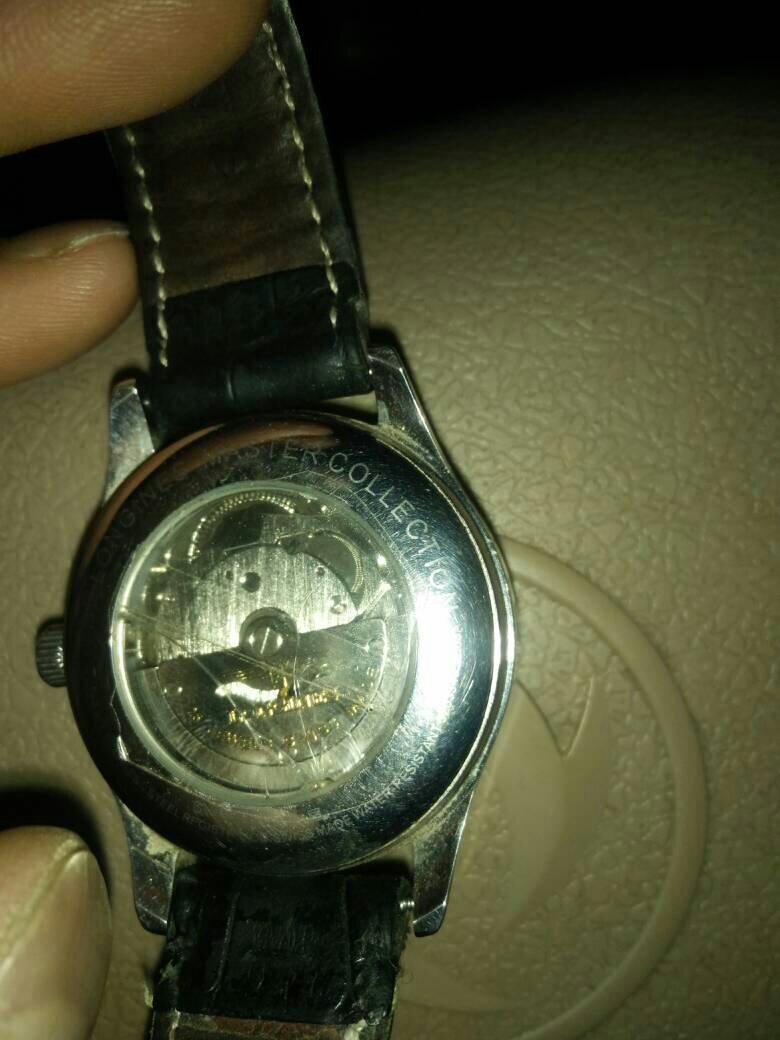 捡了一部浪琴手表!不知道是不是真的!图片