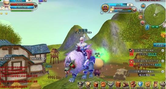 3d网页版的魔兽世界游戏图片
