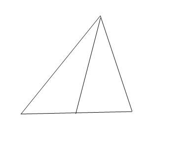 证明:角平分线和中线重合的三角形是等腰三角形.图片