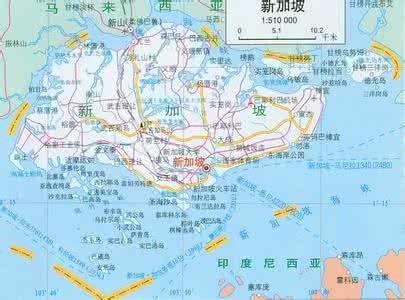 新加坡地图导航