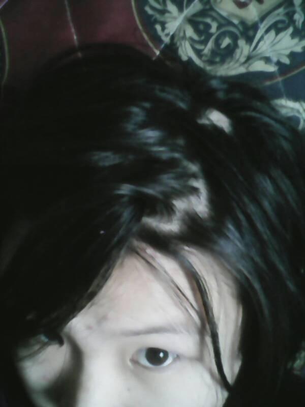 怀孕掉头发图片