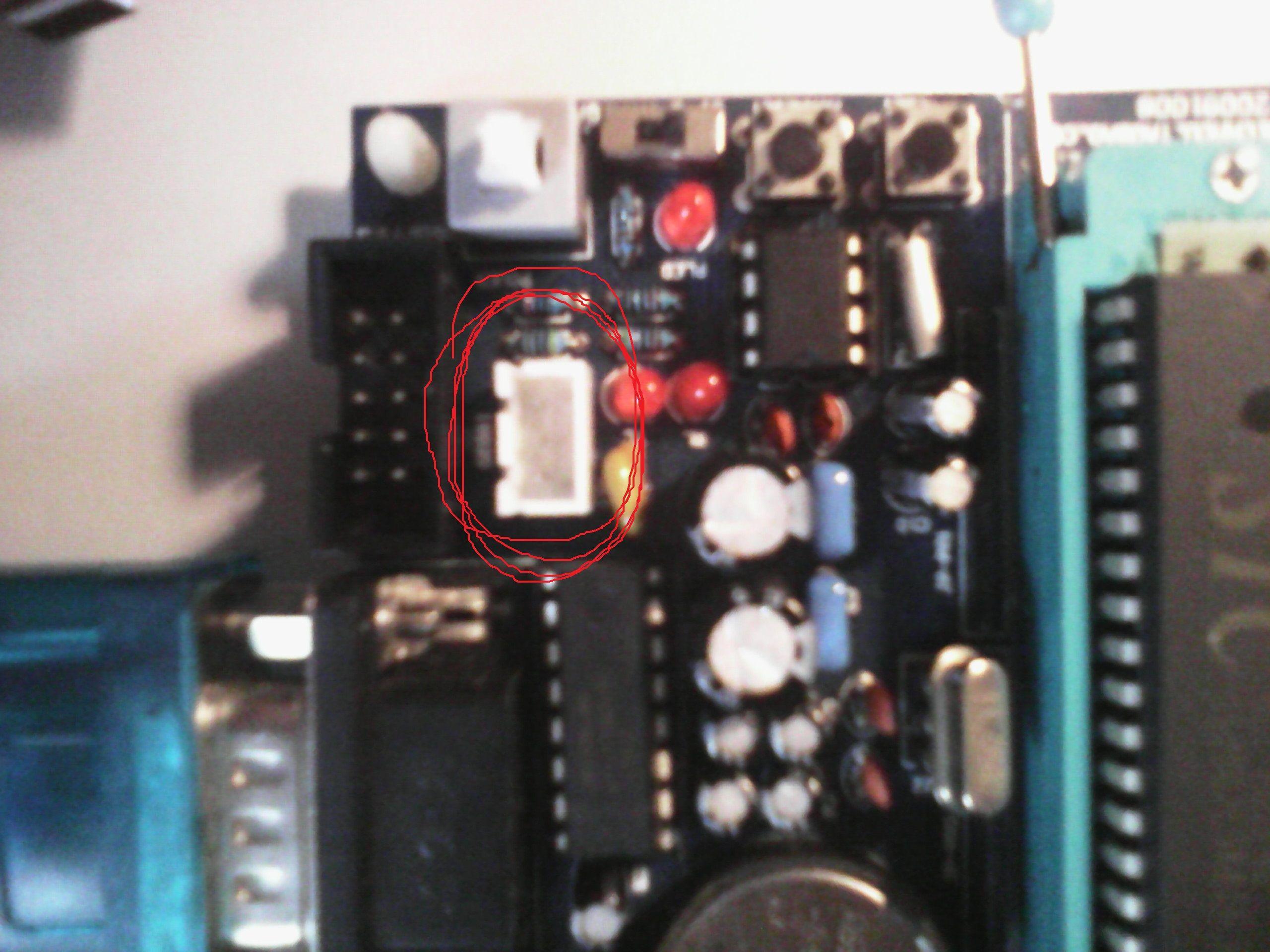 就是18b20插口,没有标明 级的地方qaq高清图片