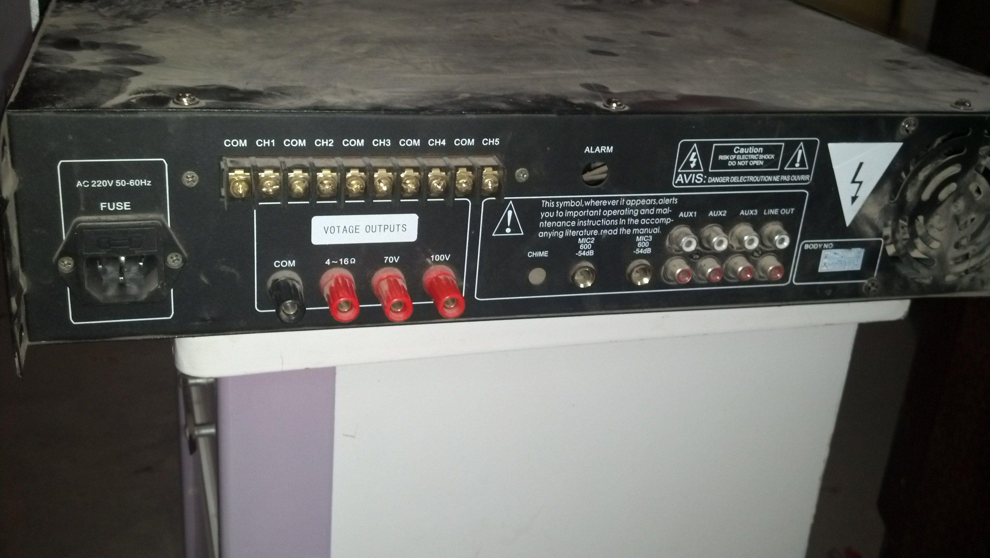 接线   说我的功放如何接音响   尼桑汽车收音机接线图;   线高清图片