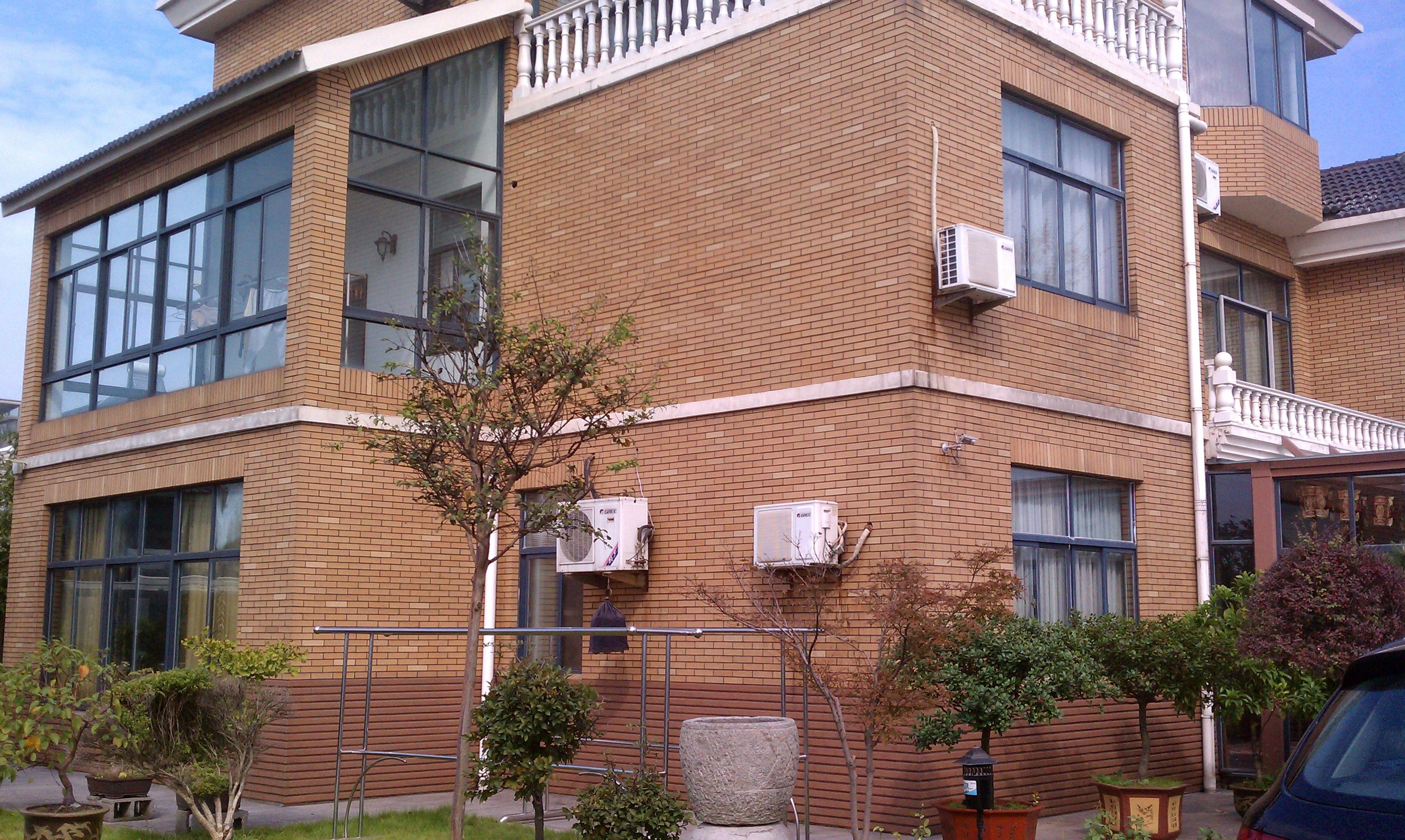 瓷砖贴外墙效果图_大厅贴瓷砖效果图高清图片舍内外墙别墅图片