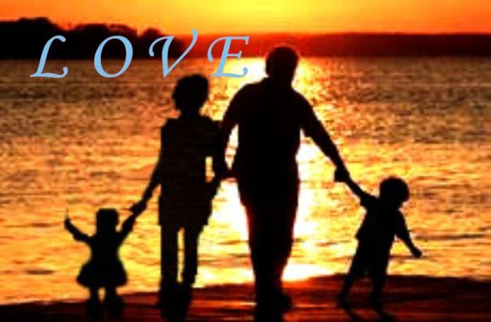 图是love一家人图片