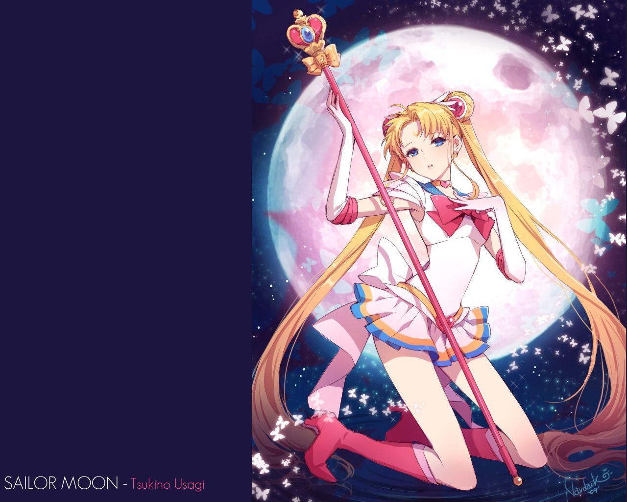 背景是个月亮打个日本动漫