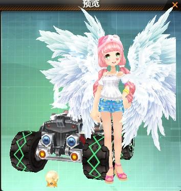 求 QQ飞车绝版或下架的翅膀代码,买的和看的都要图片