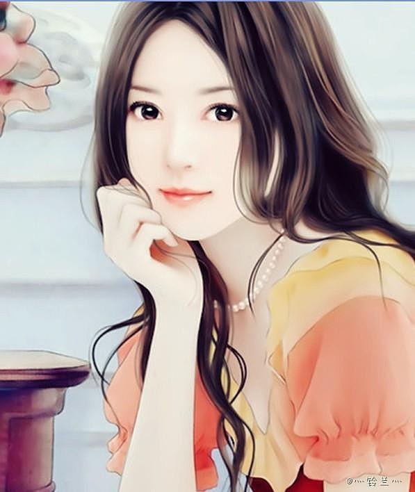 手绘现代美女现代美女手绘图片美女手绘手绘现代