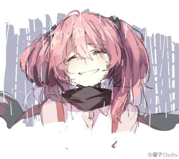 动漫少女笑着哭【不要面码】要唯美,要很多,急求 ...