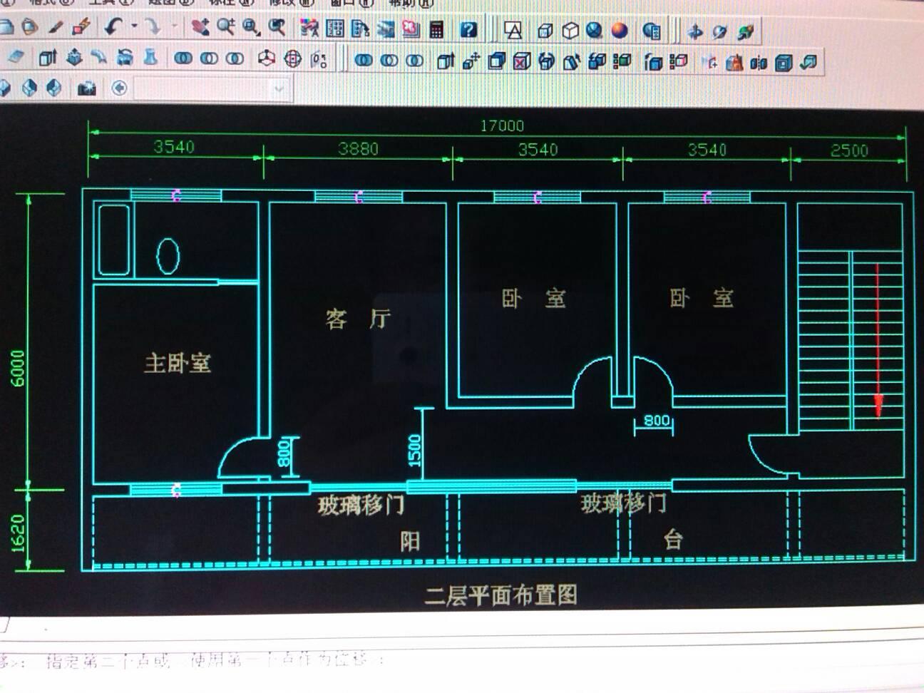 农村建房,,,宽8米长17米求房子设计图图片