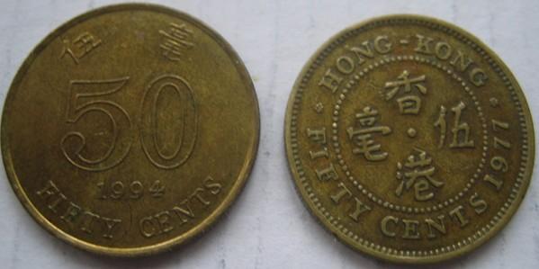 1998年香港5元硬币_香港目前只有\