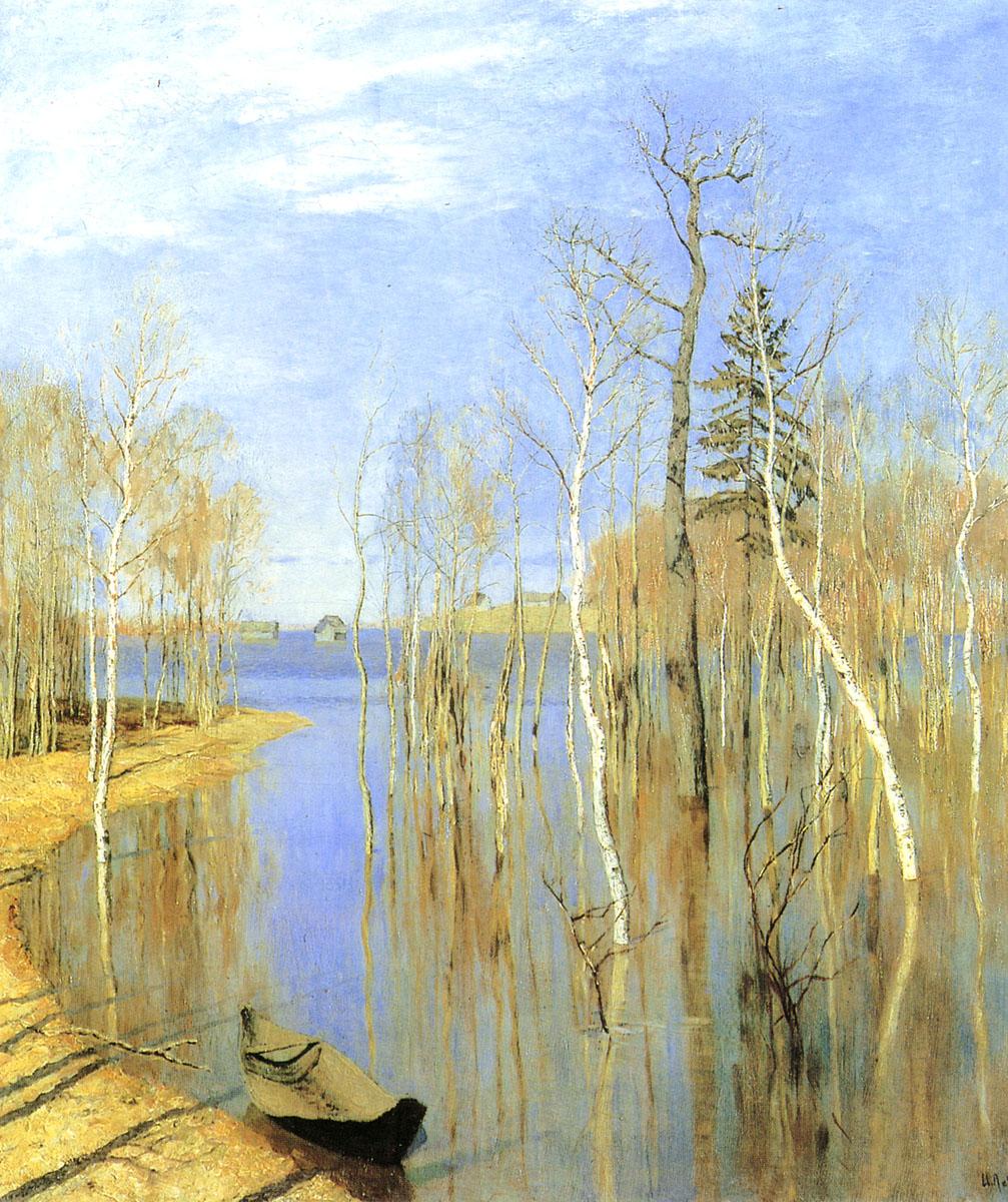 风景油画作品图片图片