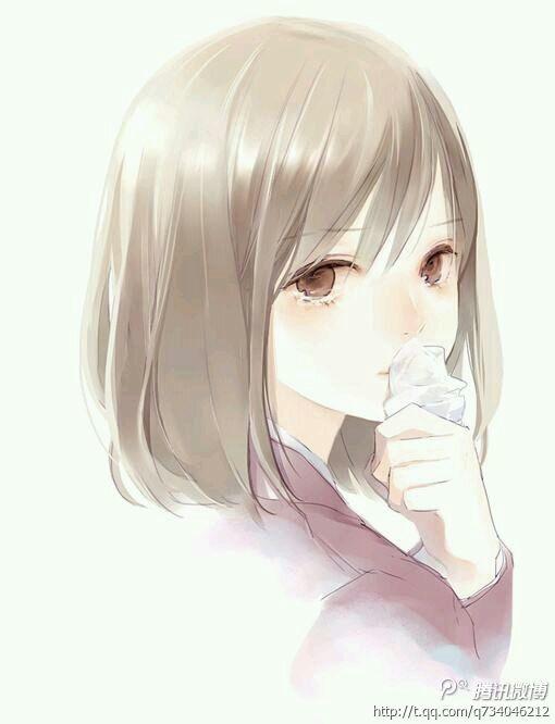 要一张哭泣的动漫女生图片
