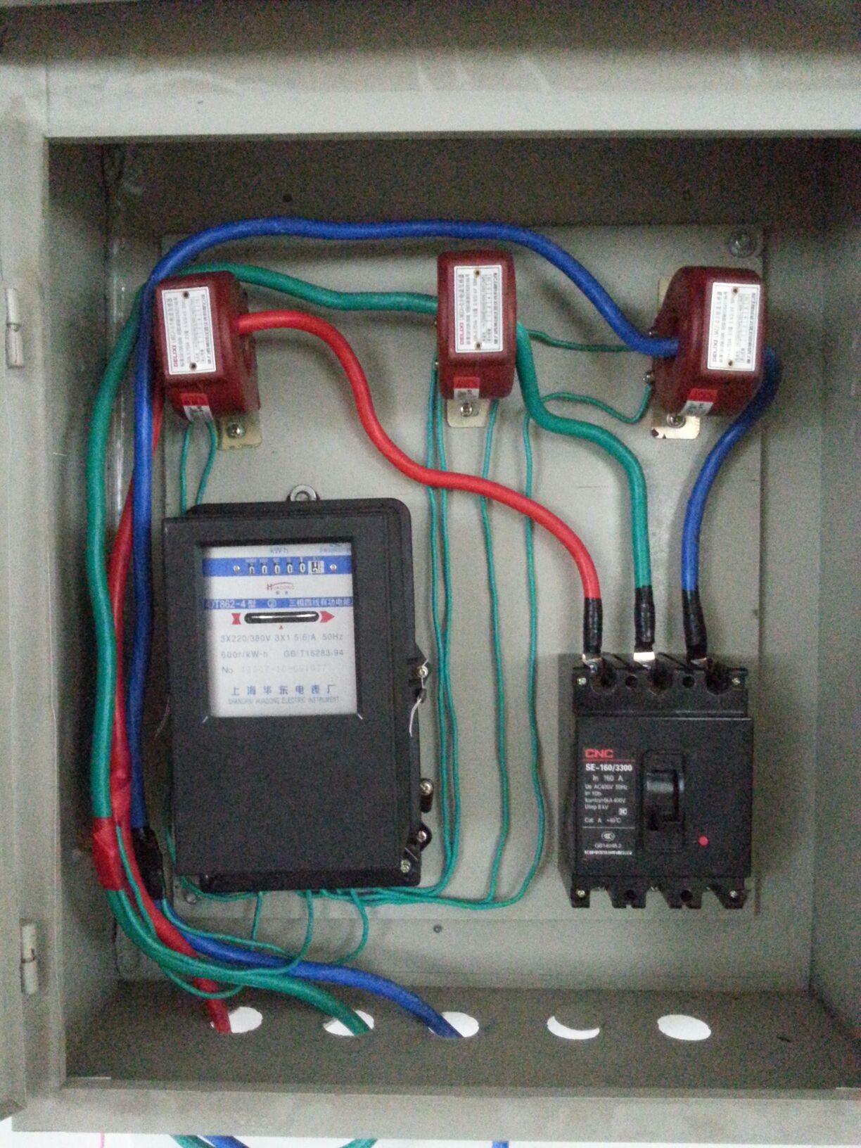 互感器接法 互感器电表接线图 三相互感器接法图片