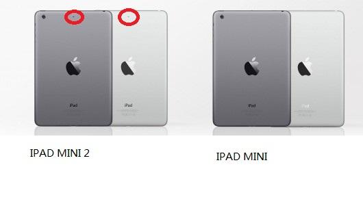 iPad mini2和mini1的区别 只有iPad mini2是带renita的吗