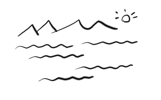 在下面横线处,依照前面画波浪线的句子,各补写一个句子.图片