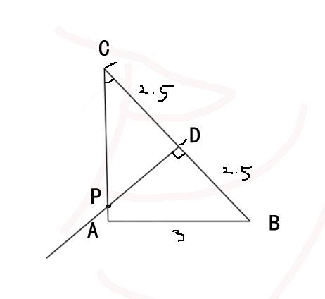联想三角形外心(三角形三边中垂线的交点)的概念,我们图片