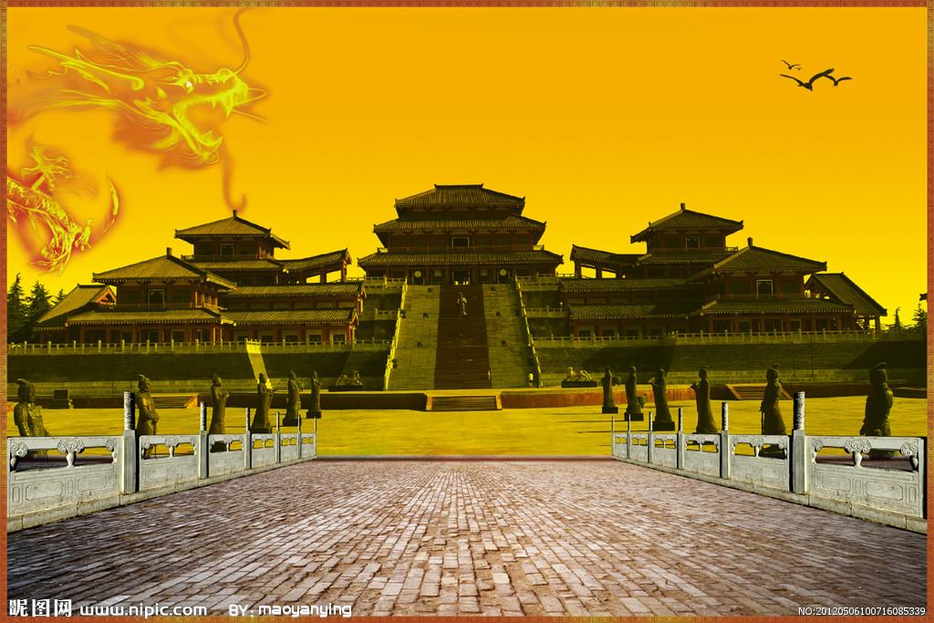 皇宫的背景(不要真实的)图片