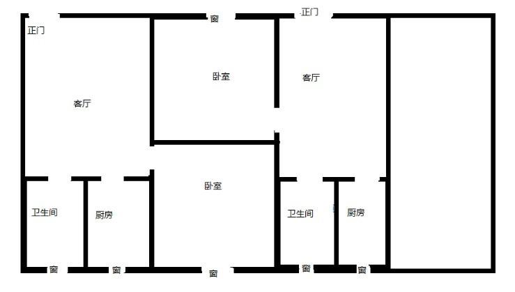 房屋设计图_百度知道; 单间房设计图; 两层三间房屋设计图一层三间图片