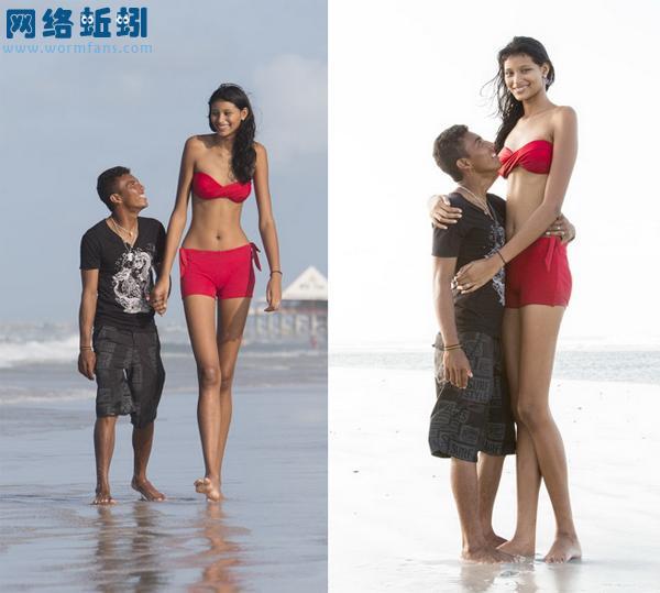 再说女孩各自矮比大高个子好找