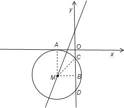 已知圆心在x轴上 半径