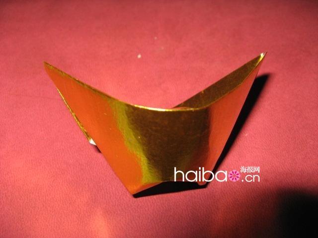 如何折元寶紙元寶的折法