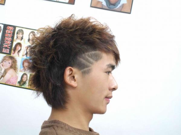 非主流帅哥短发发型怎么剪得