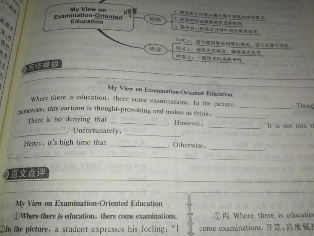 快要英语四级考试了,有大神能提供几套英语看图作文的万能模板吗