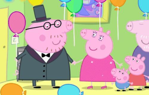 《小猪佩奇》动画片里的主要人物有谁?图片