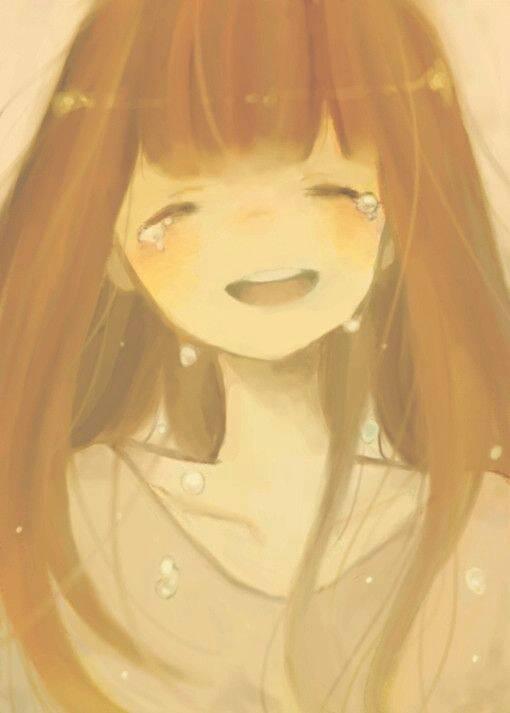 动漫人物.哭泣伤心无奈的图.最好是一个人.