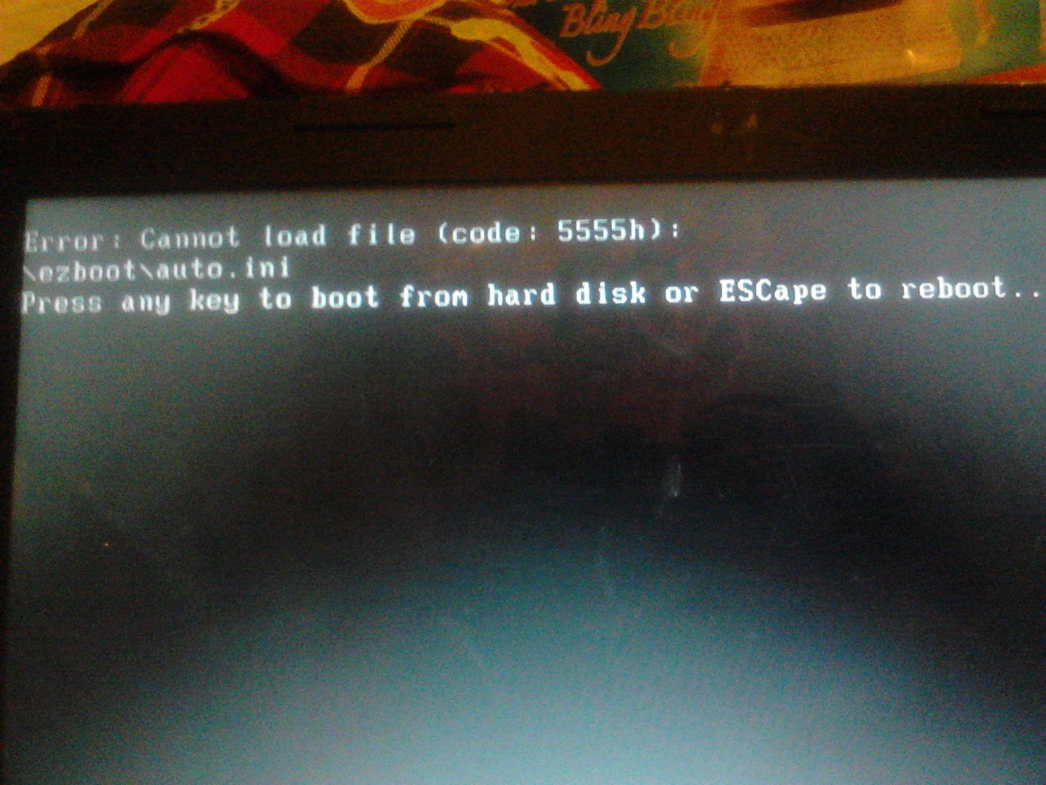 原本电脑崩溃,然后用pe重装了xp,结果开机出现了ntdetect failed,怎么