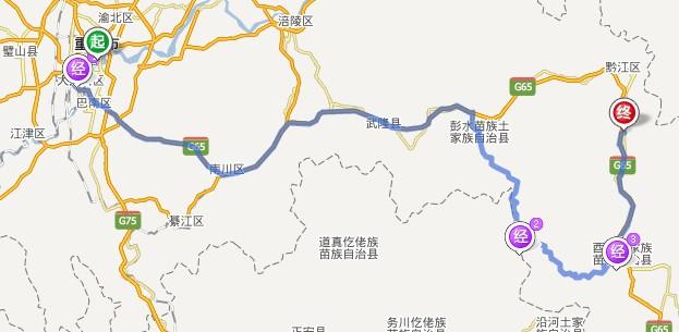 乌江画廊自驾游路线