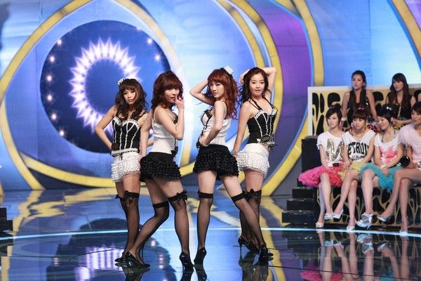 来自jyp经纪公司的韩国sister组合 越跳越美丽 のsi高清图片