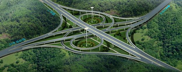 高速公路沈海莆田出口互通提升工程主线通车,高架桥四通八达图片