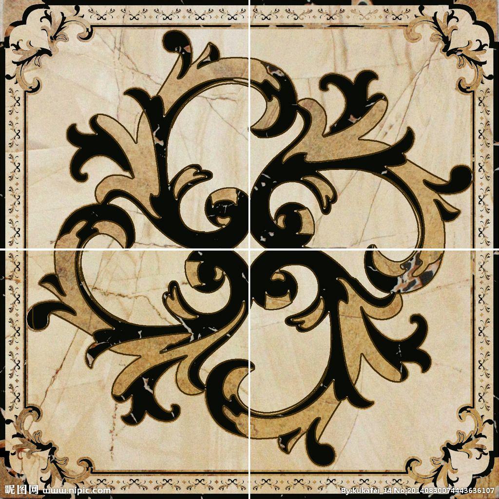 镶金线的咖啡色调桌面结合美式拼花工艺,瞬间.