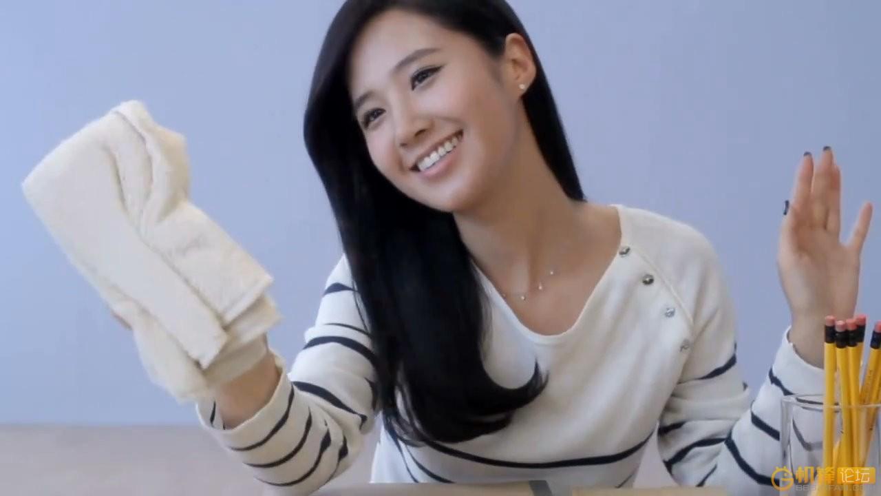 求少女时代yuri擦玻璃的屏保
