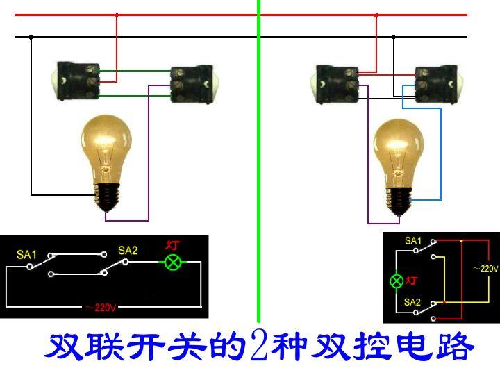 双回路供电开关_双控开关怎么接线_双控开关原理 ...